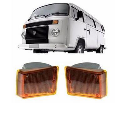 Lanterna Dianteira Kombi Clipper Âmbar - AMG