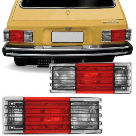Lanterna Traseira Brasilia Fumê  (1978/1982) - AMG