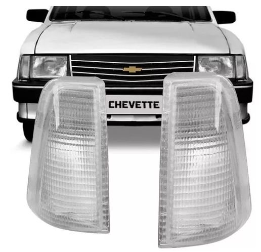 Lanterna Dianteira Chevette Cristal (1983/1993) - IFCAR