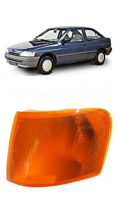 Lanterna Dianteira Escort Ambar (1993-1996) - IFCAR