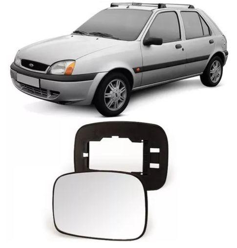 Lente Retrovisor Escort/Fiesta Com Base (1997/1998) - METAGAL