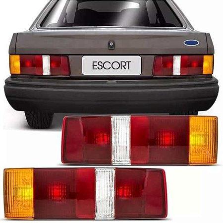 Lanterna Traseira Escort/Hobby Tricolor (1987/1992) – HT