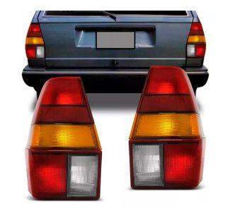 Lanterna Traseira Quantum Tricolor Com Friso (1985/1991) - HT
