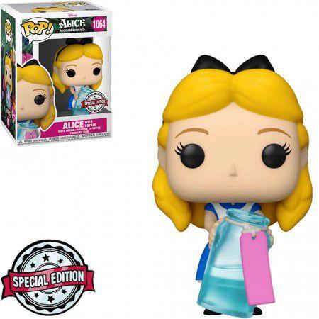 Funko Pop Disney Alice In Wonderland Alice With Bottle #1064
