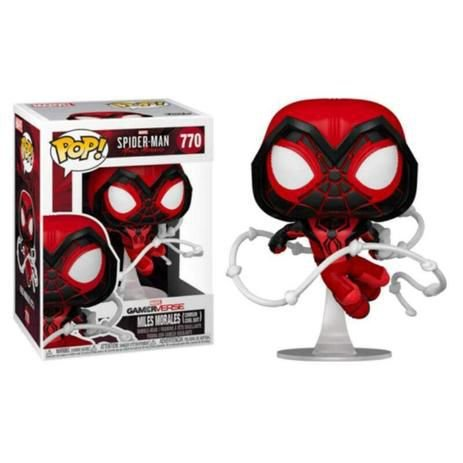 Funko Pop Marvel Spider-Man Miles Morales (Crimson Cowl Suit) #770