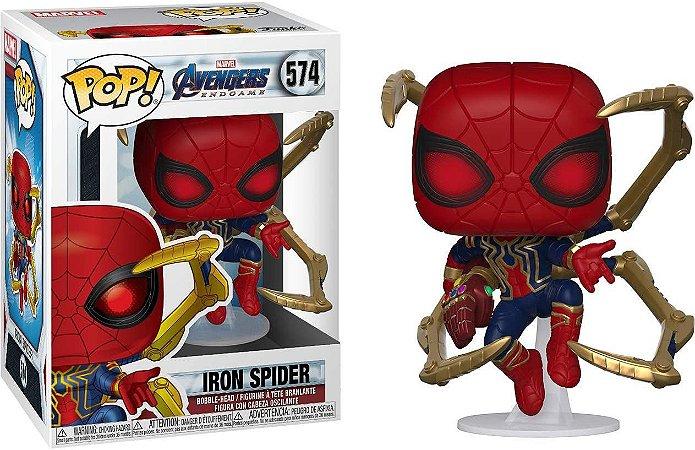 Funko Pop Marvel Avengers Endgame Iron Spider #574