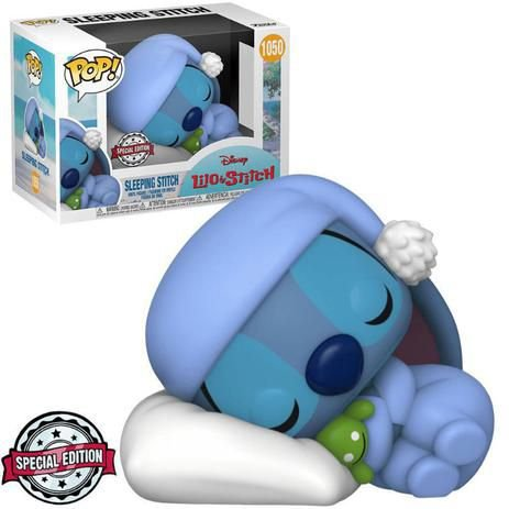 Funko Pop Disney Lilo & Stitch Sleeping Stitch #1050