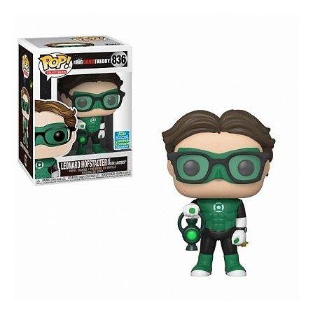 Funko Pop The Big Bang Theory Leonard Hofstadter as Green Lantern 2019 summer convention 836