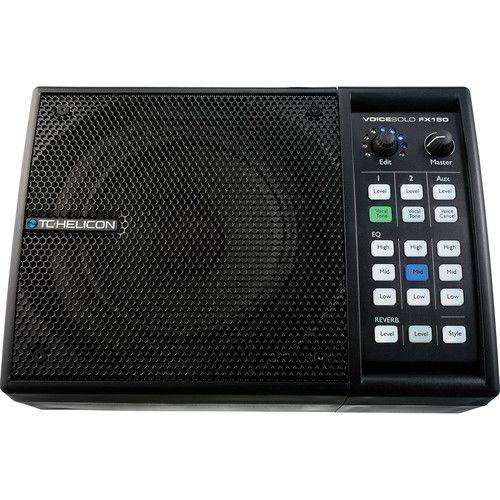 Processador de Voz TC Helicon VOICESOLO FX150