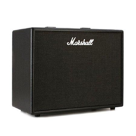 Amplificador Marshall CODE50 Combo p/ Guitarra 50W c/ Simulador