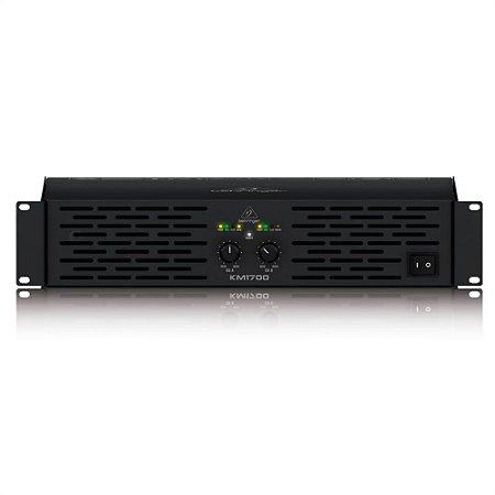 Amplificador de Potência Behringer KM1700 de 1700W