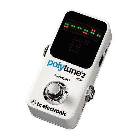 Pedal afinador para Guitarra TC Electronic Polytune 2 Mini