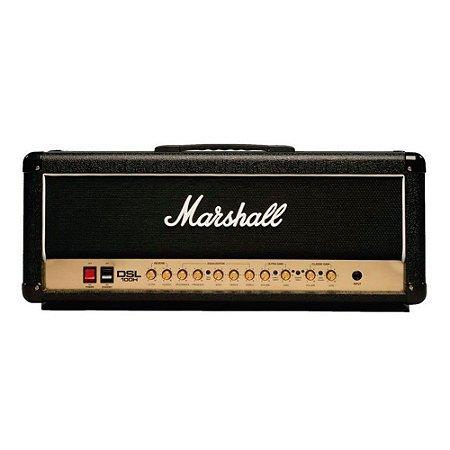 Amplificador Valvulado Marshall DSL100H Cabeçote para guitarra 100W