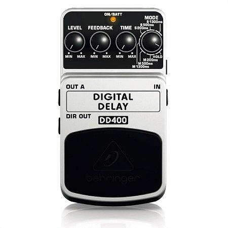 Pedal Delay para Guitarra Behringer DD400 Digital Delay