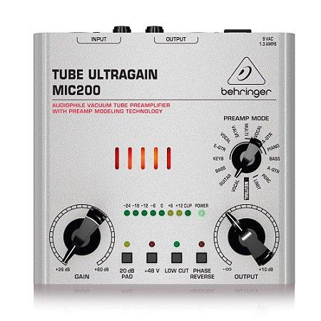 Pré-Amplificador Behringer Tube Ultragain MIC200