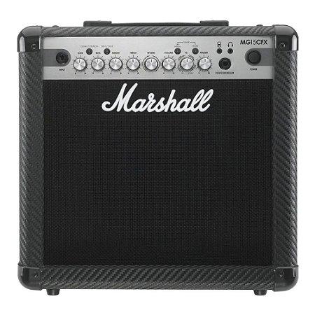 Amplificador Marshall MG15CFX Combo para Guitarra 15W