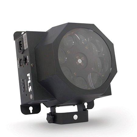 Luz de efeito DMX PLS DISCO LED com LED RGBW de 5W