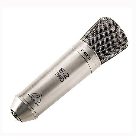 Microfone condensador de Estúdio Behringer B-2 PRO