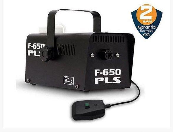 Máquina de Fumaça PLS F-650 com Controle c/ Fio 220V