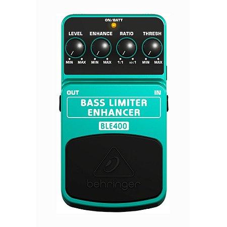 Pedal para contrabaixo Behringer BLE400 Bass Limiter Enhancer