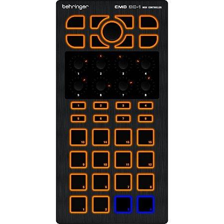 Controlador MIDI CMD Behringer DC-1
