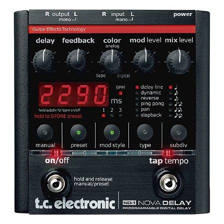 Pedal para Guitarra TC Electronic ND-1 Nova Delay programável