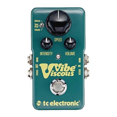 Pedal para Guitarra TC Electronic Viscous Vibe Shin-Ei Uni-Vibe