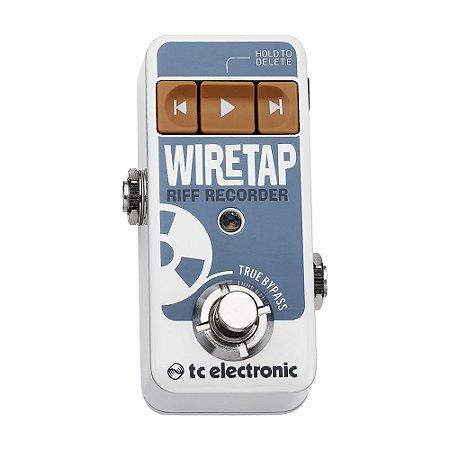 Pedal para Guitarra TC Electronic Wiretap Riff Recorder