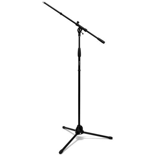 Pedestal para Microfone Benson MS107B em aço com altura ajustável