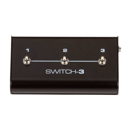 Footswitch Switch-3 TC Helicon para BG250 BH250 BH550 e BH800