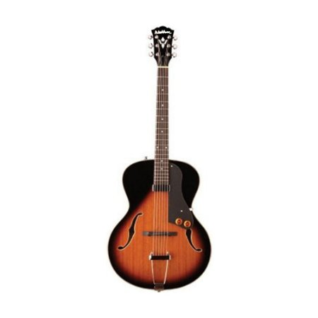 Guitarra semi acústica Washburn HB15TS Tobacco Sunburst com Bag