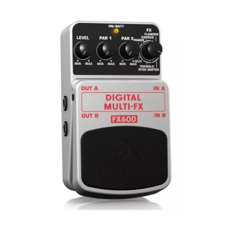 Pedal para Guitarra Behringer FX600 Digital Multi-FX
