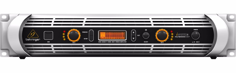 Amplificador de Potência Berhinger iNuke NU12000 DSP 220V