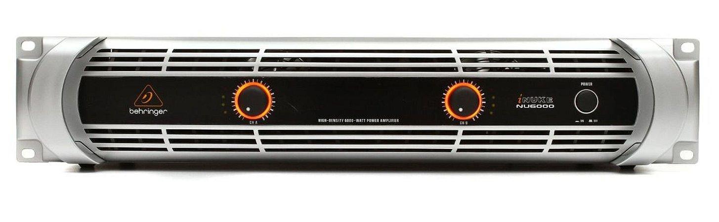 Amplificador de Potência Berhinger iNuke NU6000 de 6000W 220V