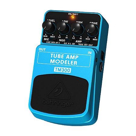 Pedal para Guitarra Behringer TM300 Tube Amp Modeler