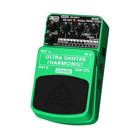 Pedal para Guitarra Behringer US600 Pitch Shifter / Harmonist