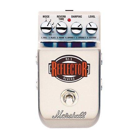 Pedal Reverb para Guitarra Marshall Reflector RF-1