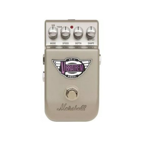Pedal Vibrato para Guitarra Marshall Vibratrem VT-1