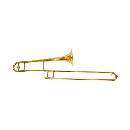 Trombone alto Eb Benson BTBA-1AL laqueado com case luxo