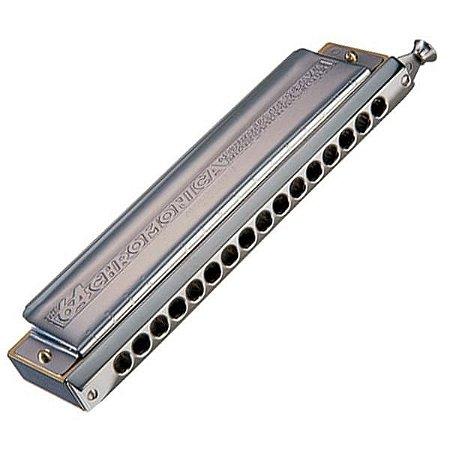 Harmônica Cromática Hohner Chromonica 280/64 C (Dó) Gaita de boca M28001