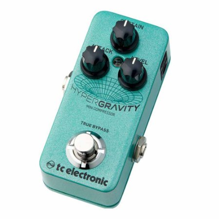 Pedal Compressor para Guitarra TC Electronic Hypergravity Mini