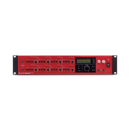 Interface de Áudio Thunderbolt Focusrite Clarett 8PreX 26 in/28 out