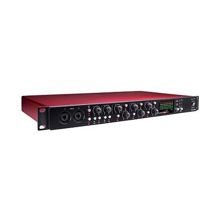 Conversor A-D / D-A Focusrite Scarlett OctoPre 8 canais 192kHz