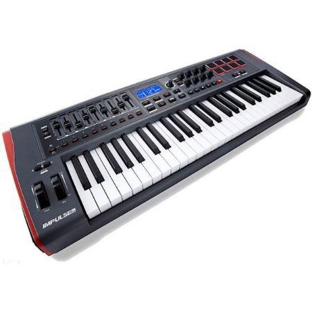 Teclado Controlador MIDI USB Novation Impulse 49