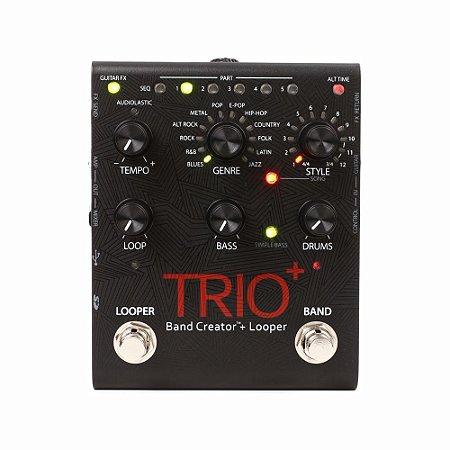 Pedal De Efeitos Para Guitarra Digitech Trio Plus Band Creator + Looper