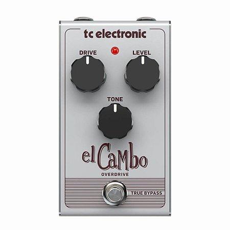 Pedal de Overdrive para Guitarra TC Electronic El Cambo
