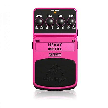 Pedal para Guitarra Behringer HM300 Heavy Metal