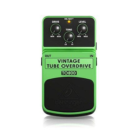Pedal para Guitarra Behringer TO800 Vintage Tube Overdrive