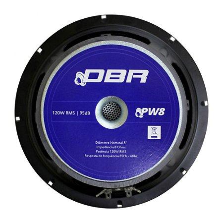 Alto-falante para Guitarra DBR PW8 8'' 120W RMS 8 Ohms