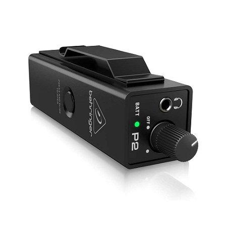Pré-Amplificador Behringer Powerplay P2 Monitor Pessoal Ultra Compacto